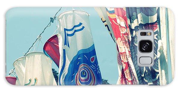 Koinobori Flags Galaxy Case by Rachel Mirror