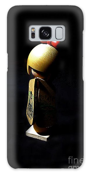 Kokeshi Galaxy Case by Lawrence Burry