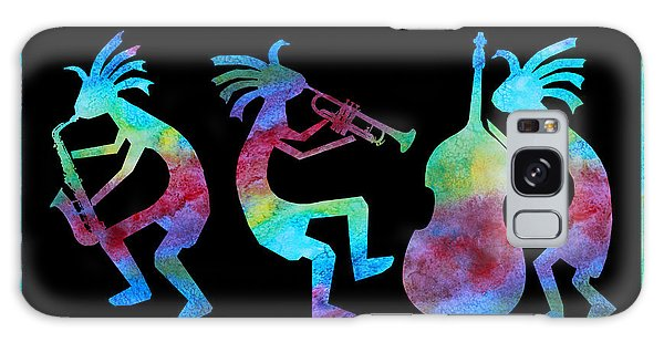 Kokopelli Jazz Trio Galaxy Case