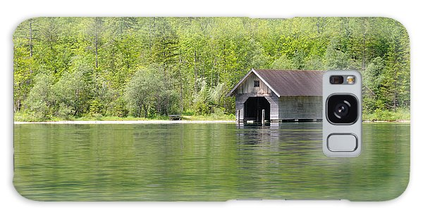 Konigsee Boathouse Galaxy Case by Jeremy Voisey