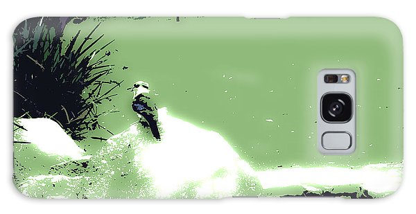 Kookaburra I Galaxy Case by Cassandra Buckley