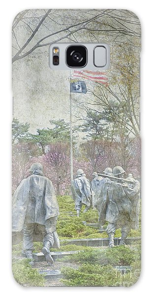 Korean War Veterans Memorial Washington Dc Beautiful Unique   Galaxy Case