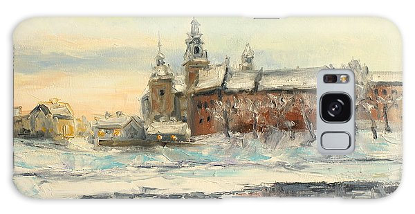 Krakow - Wawel Castle Winter Galaxy Case