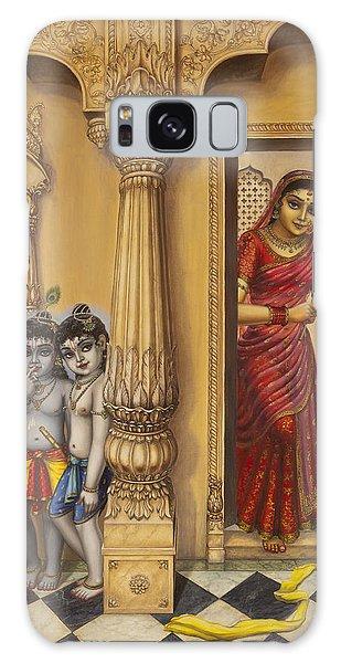 Krishna And Ballaram Butter Thiefs Galaxy Case