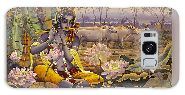 Krishna. Evening Flute Galaxy Case
