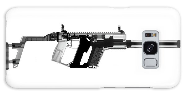 Calico M100 Galaxy Case - Kriss Vector X-ray Photograph by Ray Gunz