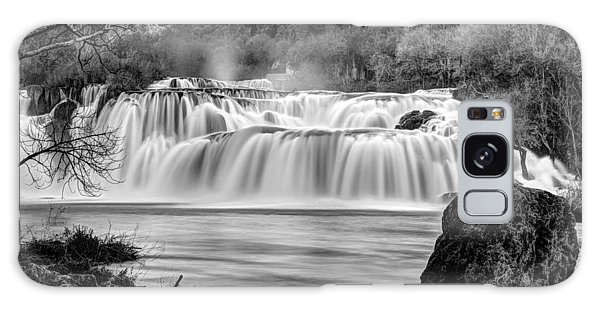 Krka Waterfalls Bw Galaxy Case