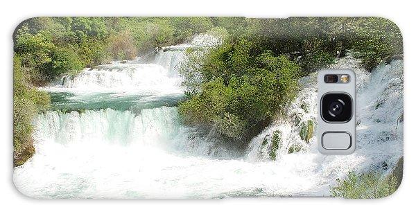 Krka Waterfalls Croatia Galaxy Case