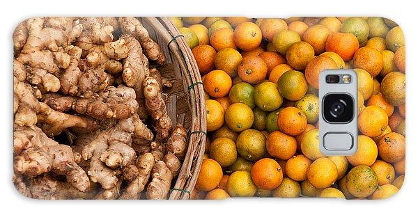 Kumquats And Ginger Galaxy Case
