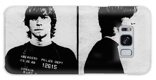Kurt Cobain Mugshot Galaxy Case