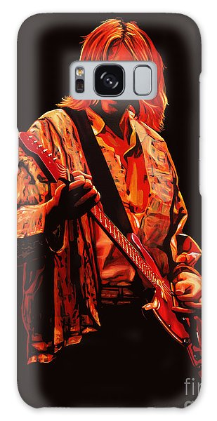 Cd Galaxy Case - Kurt Cobain Painting by Paul Meijering