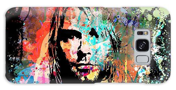 Kurt Cobain Portrait Galaxy Case