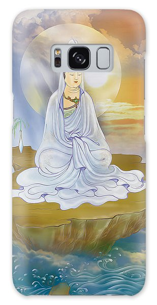 Kwan Yin - Goddess Of Compassion Galaxy Case by Lanjee Chee