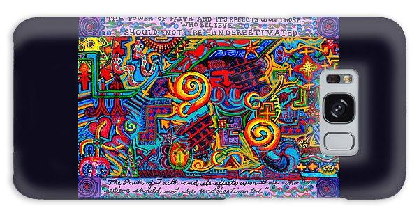 La Fuerza De La Fe Galaxy Case by Peter Gumaer Ogden