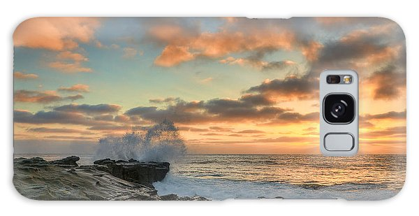 La Jolla Cove At Sunset Galaxy Case