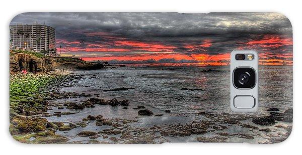 La Jolla Cove Sunset Galaxy Case