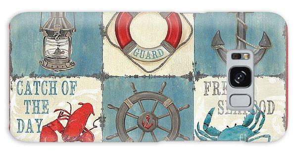America Galaxy Case - La Mer Collage by Debbie DeWitt