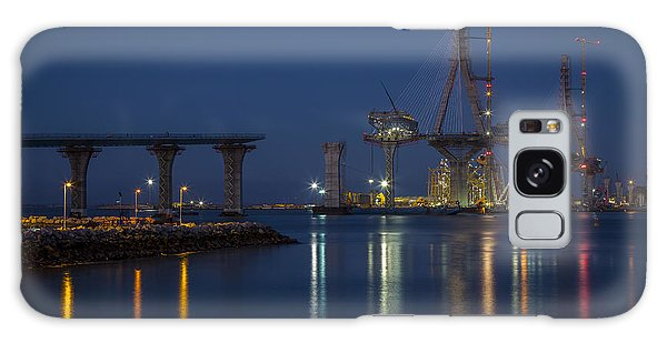 La Pepa Bridge Cadiz Spain Galaxy Case by Pablo Avanzini