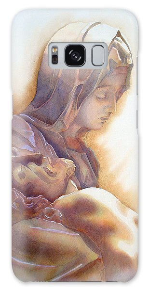 La Pieta By Michelangelo Galaxy Case by J- J- Espinoza