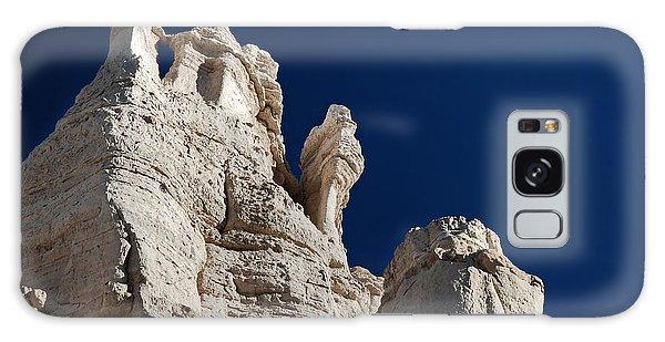 La Plaza Blanca - Figure Of Mary Galaxy Case by Julie VanDore