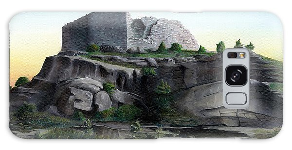 La Rocca De Monte Calvo Galaxy Case by Albert Puskaric