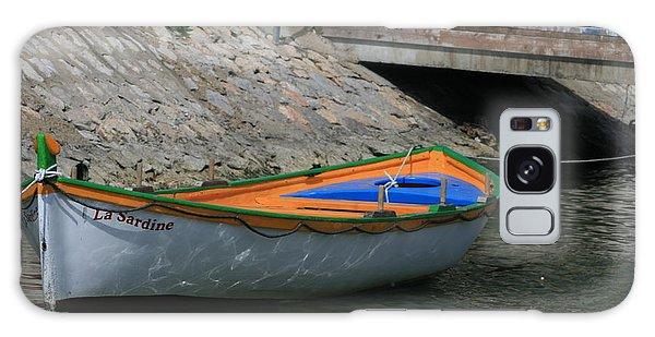 Boat   La Sardine  Galaxy Case by Phoenix De Vries