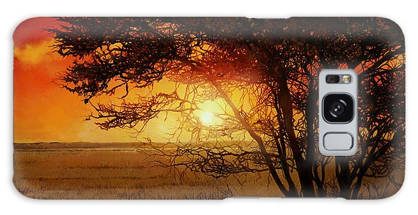 Panther Galaxy S8 Case - La Savana Al Tramonto by Guido Borelli