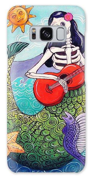 Calavera Galaxy Case - La Sirena by Candy Mayer
