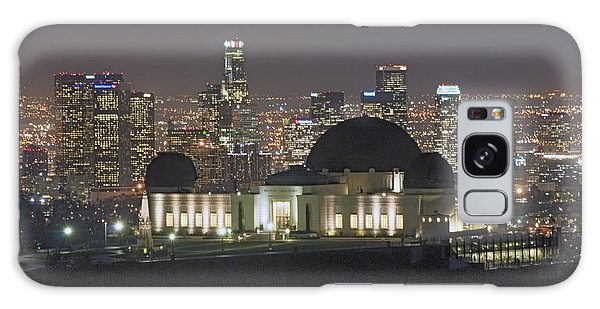 L.a. Skyline Galaxy Case