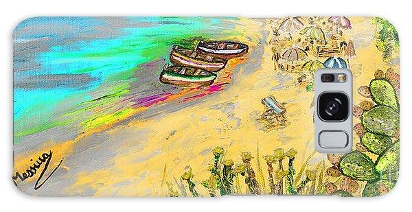 La Spiaggia Galaxy Case by Loredana Messina