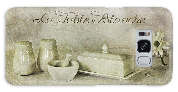 La Table Blanche - The White Table Galaxy Case