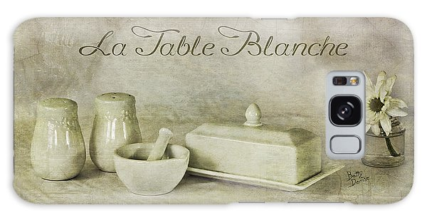 La Table Blanche - The White Table Galaxy Case