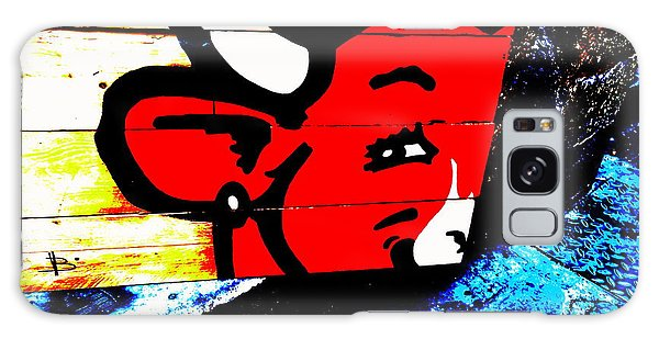 La Vache Qui Rit Art  Galaxy Case by Funkpix Photo Hunter