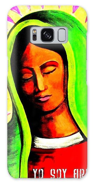 Galaxy Case featuring the painting Tonantzin by Michelle Dallocchio