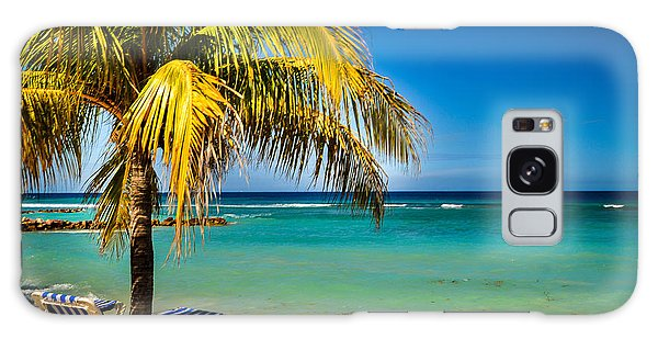 Labadee Beach Relaxing Galaxy Case