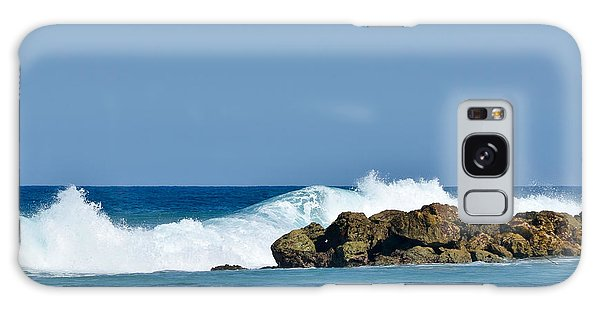 Labadee Haiti Ocean Waves Galaxy Case