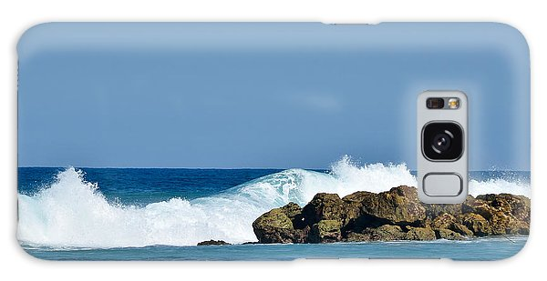 Labadee Ocean Waves Haiti Galaxy Case