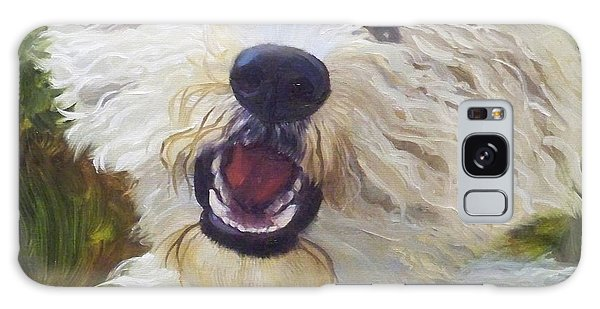 Labradoodle Galaxy Case by Alice Leggett