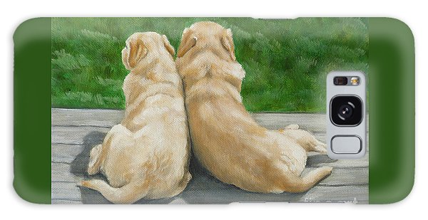 Labrador Lazy Afternoon Galaxy Case