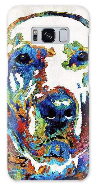 Chocolate Lab Galaxy Case - Labrador Retriever Art - Play With Me - By Sharon Cummings by Sharon Cummings