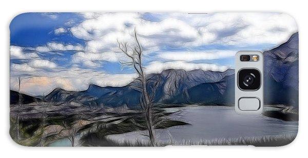 Lac Des Arcs Fractal Galaxy Case