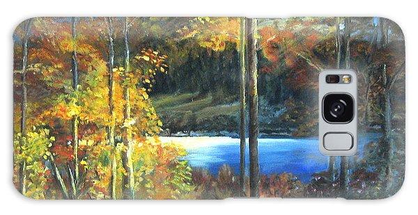 Lac Fortune Gatineau Park Quebec Galaxy Case