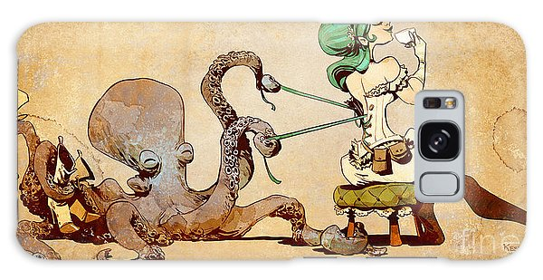 Girl Galaxy Case - Lacing Up by Brian Kesinger