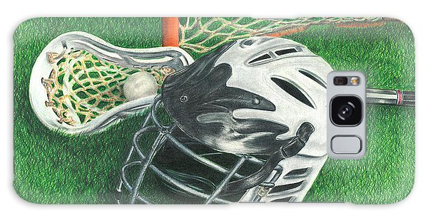 Lacrosse Galaxy Case by Troy Levesque