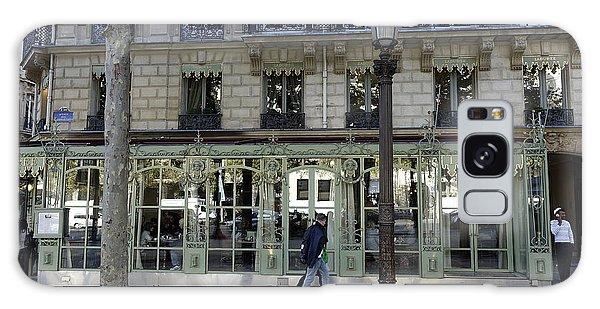 Laduree On The Champs De Elysees In Paris France  Galaxy Case