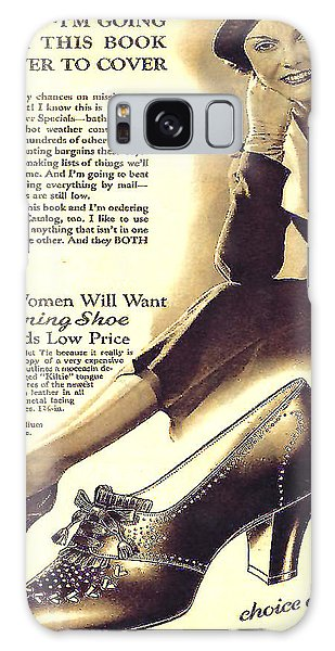 Ladies Shoes A Dollar Seventy Seven In 1934 Galaxy Case by Merton Allen