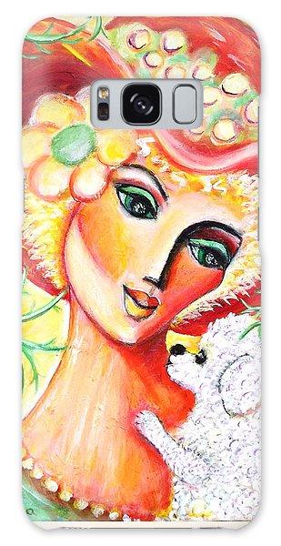 Lady And Bijon Galaxy Case