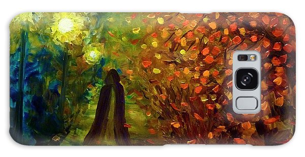 Lady Autumn Galaxy Case
