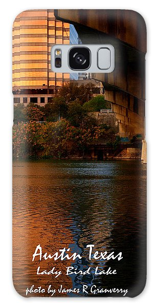 Lady Bird Lake In Fall Galaxy Case