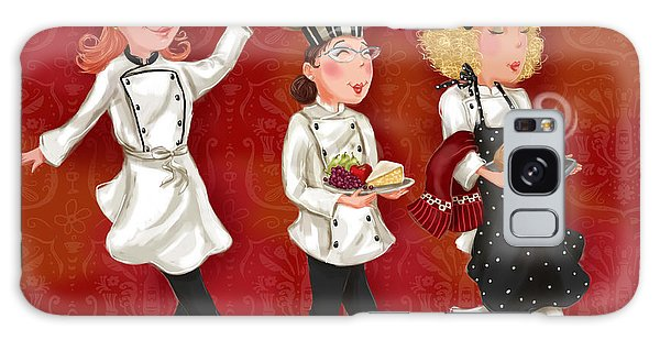 Lady Chefs - Lunch Galaxy Case